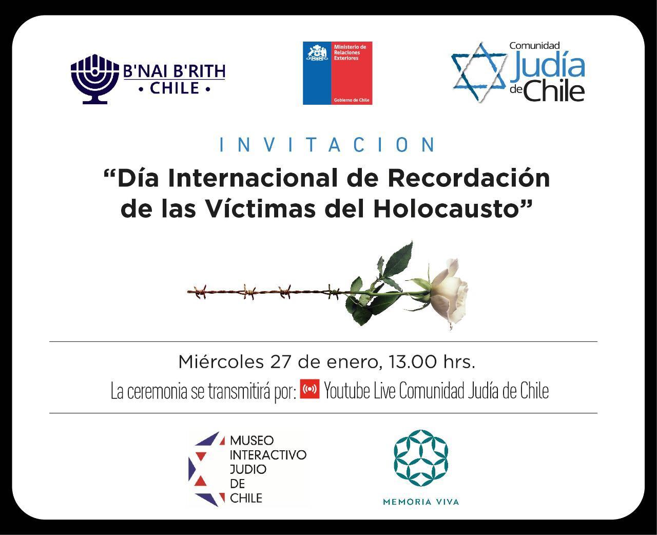 Día Internacional de Recordación de las Víctimas del Holocausto